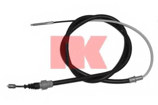 Трос стояночной тормозной системы NK 904787 - изображение