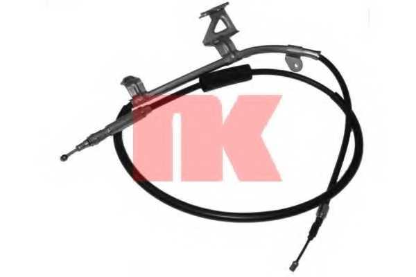 Трос стояночной тормозной системы NK 904788 - изображение