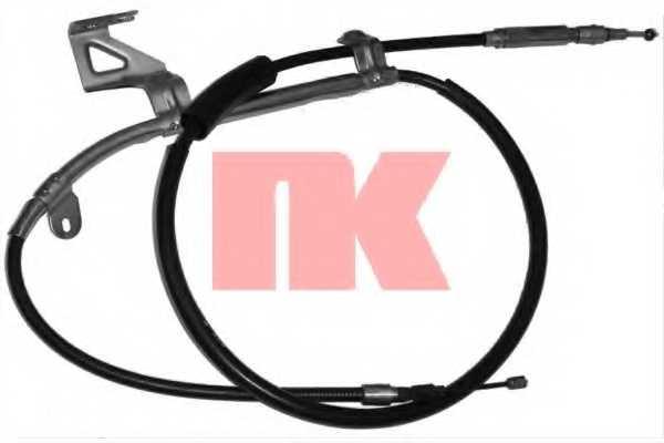 Трос стояночной тормозной системы NK 904789 - изображение