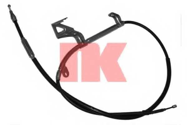 Трос стояночной тормозной системы NK 904792 - изображение