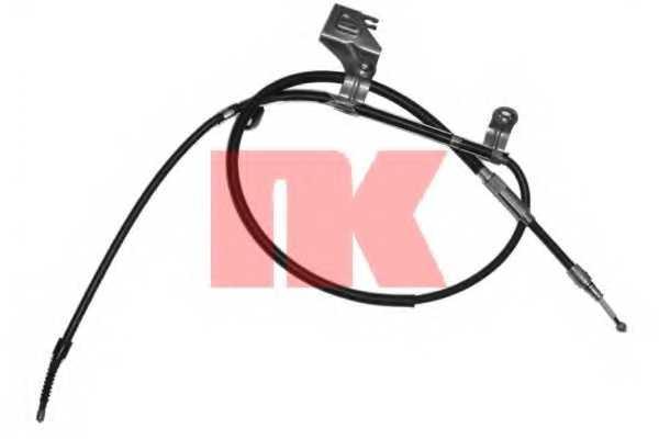 Трос стояночной тормозной системы NK 904793 - изображение