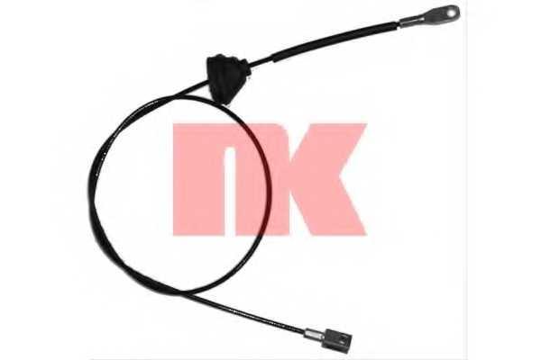 Трос стояночной тормозной системы NK 904826 - изображение