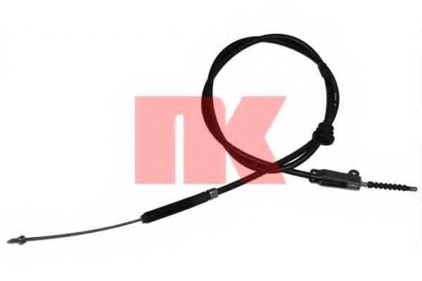 Трос стояночной тормозной системы NK 904828 - изображение