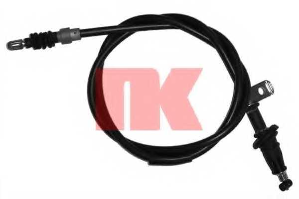 Трос стояночной тормозной системы NK 904834 - изображение