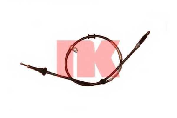 Трос стояночной тормозной системы NK 904838 - изображение