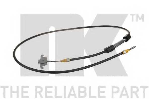 Трос стояночной тормозной системы NK 904851 - изображение
