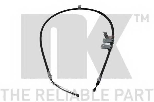 Трос стояночной тормозной системы NK 905005 - изображение