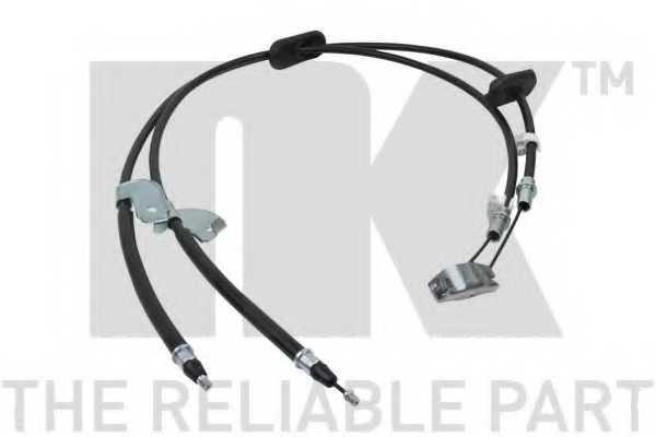 Трос стояночной тормозной системы NK 905017 - изображение