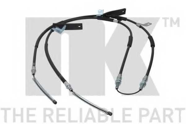Трос стояночной тормозной системы NK 905020 - изображение