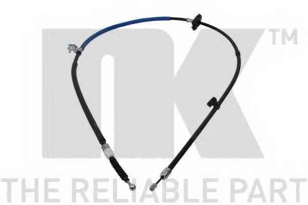 Трос стояночной тормозной системы NK 905021 - изображение