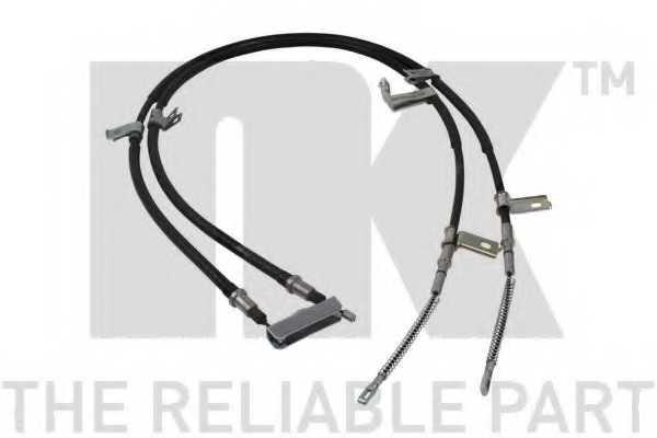 Трос стояночной тормозной системы NK 905023 - изображение