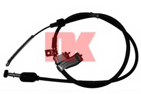 Трос стояночной тормозной системы NK 905212 - изображение