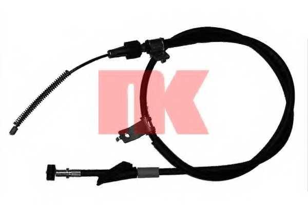 Трос стояночной тормозной системы NK 905213 - изображение