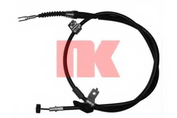 Трос стояночной тормозной системы NK 905214 - изображение