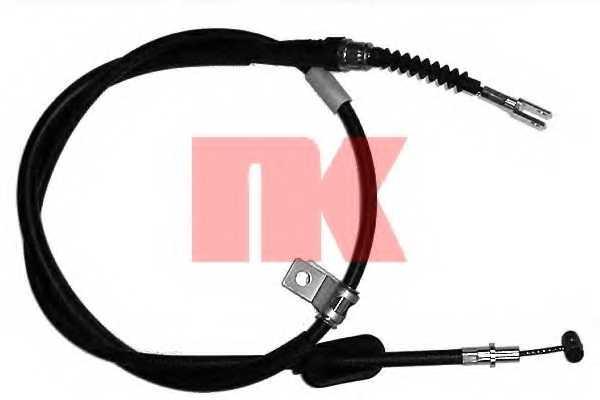 Трос стояночной тормозной системы NK 905215 - изображение