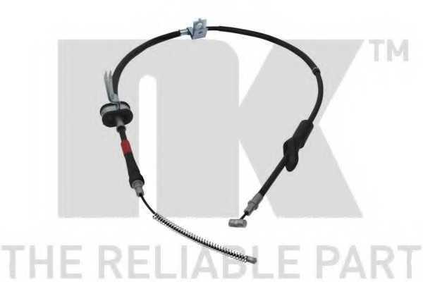 Трос стояночной тормозной системы NK 905216 - изображение