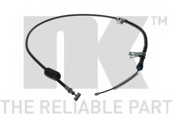 Трос стояночной тормозной системы NK 905224 - изображение