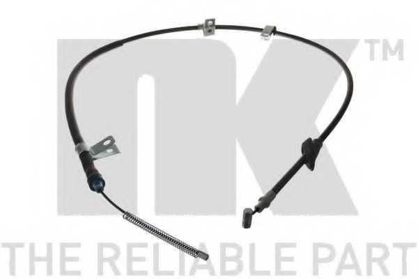 Трос стояночной тормозной системы NK 905225 - изображение