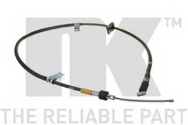 Трос стояночной тормозной системы NK 905230 - изображение