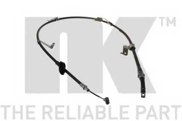 Трос стояночной тормозной системы NK 905235 - изображение