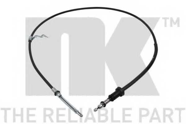 Трос стояночной тормозной системы NK 909301 - изображение