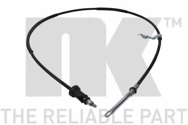 Трос стояночной тормозной системы NK 909302 - изображение