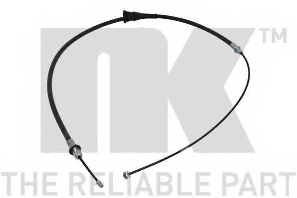 Трос стояночной тормозной системы NK 909309 - изображение