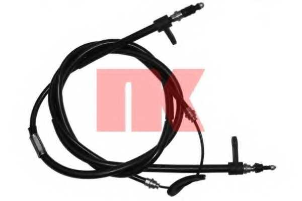 Трос стояночной тормозной системы NK 909916 - изображение
