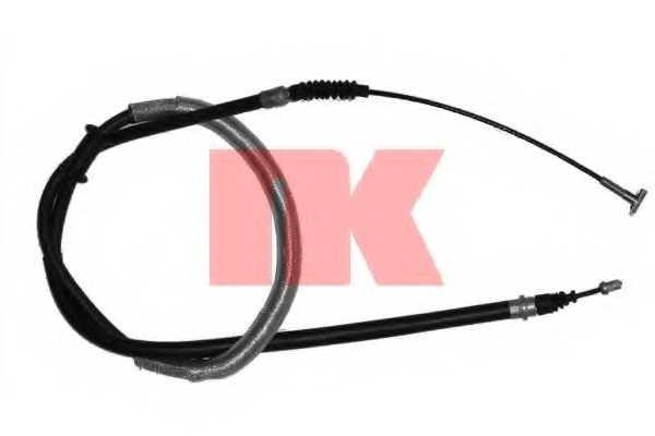 Трос стояночной тормозной системы NK 909918 - изображение