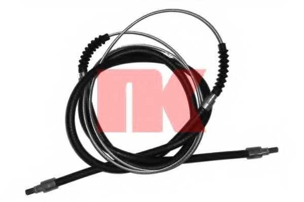 Трос стояночной тормозной системы NK 909925 - изображение
