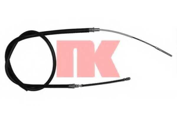 Трос стояночной тормозной системы NK 909934 - изображение