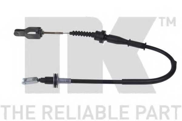Трос управления сцеплением NK 922212 - изображение
