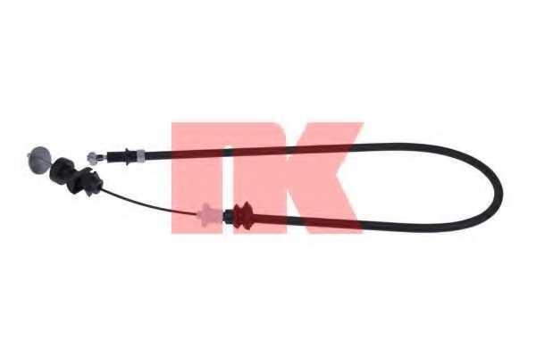 Трос управления сцеплением NK 922370 - изображение