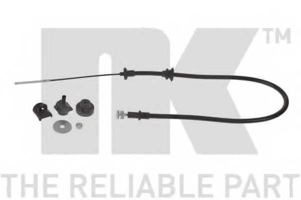 Трос управления сцеплением NK 922384 - изображение