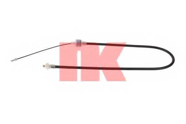 Трос управления сцеплением NK 922516 - изображение