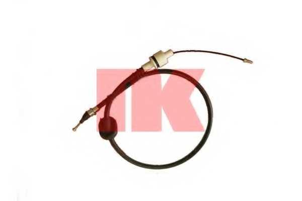 Трос управления сцеплением NK 922530 - изображение