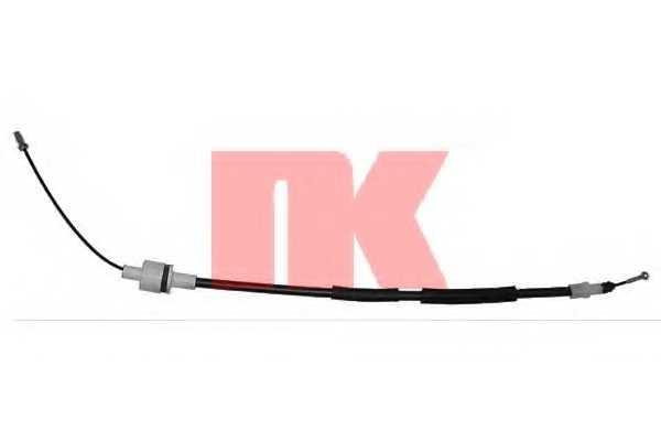 Трос управления сцеплением NK 922536 - изображение