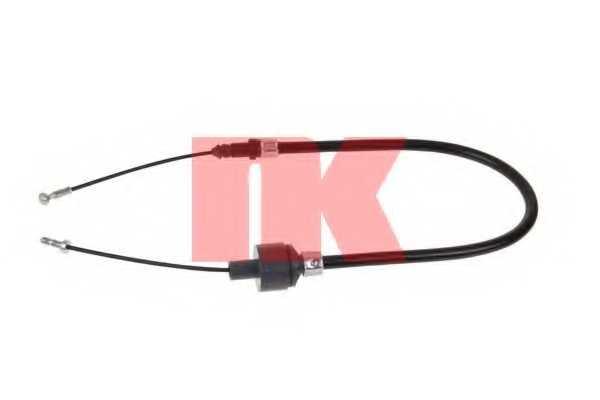 Трос управления сцеплением NK 922537 - изображение