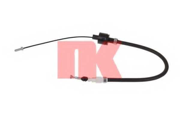Трос управления сцеплением NK 922539 - изображение