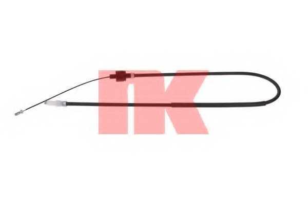 Трос управления сцеплением NK 922542 - изображение