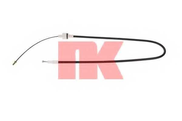 Трос управления сцеплением NK 922552 - изображение