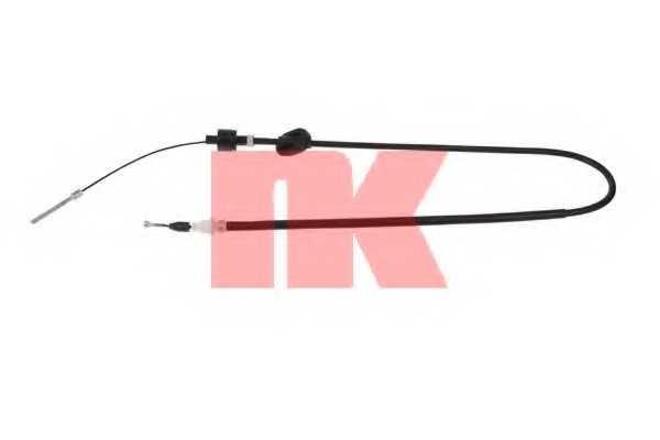 Трос управления сцеплением NK 922554 - изображение