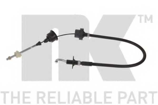 Трос управления сцеплением NK 923623 - изображение
