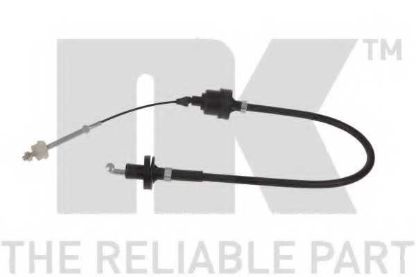 Трос управления сцеплением NK 923625 - изображение