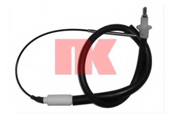 Трос управления сцеплением NK 923628 - изображение