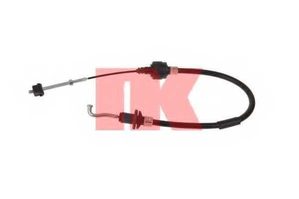Трос управления сцеплением NK 923629 - изображение