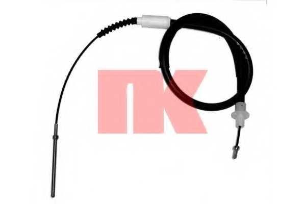 Трос управления сцеплением NK 923631 - изображение