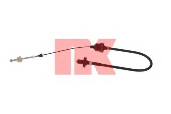 Трос управления сцеплением NK 923633 - изображение