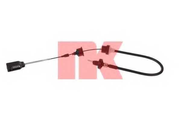 Трос управления сцеплением NK 923634 - изображение