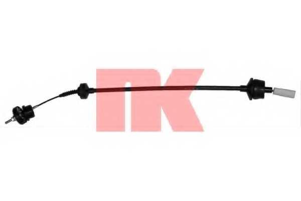 Трос управления сцеплением NK 923728 - изображение